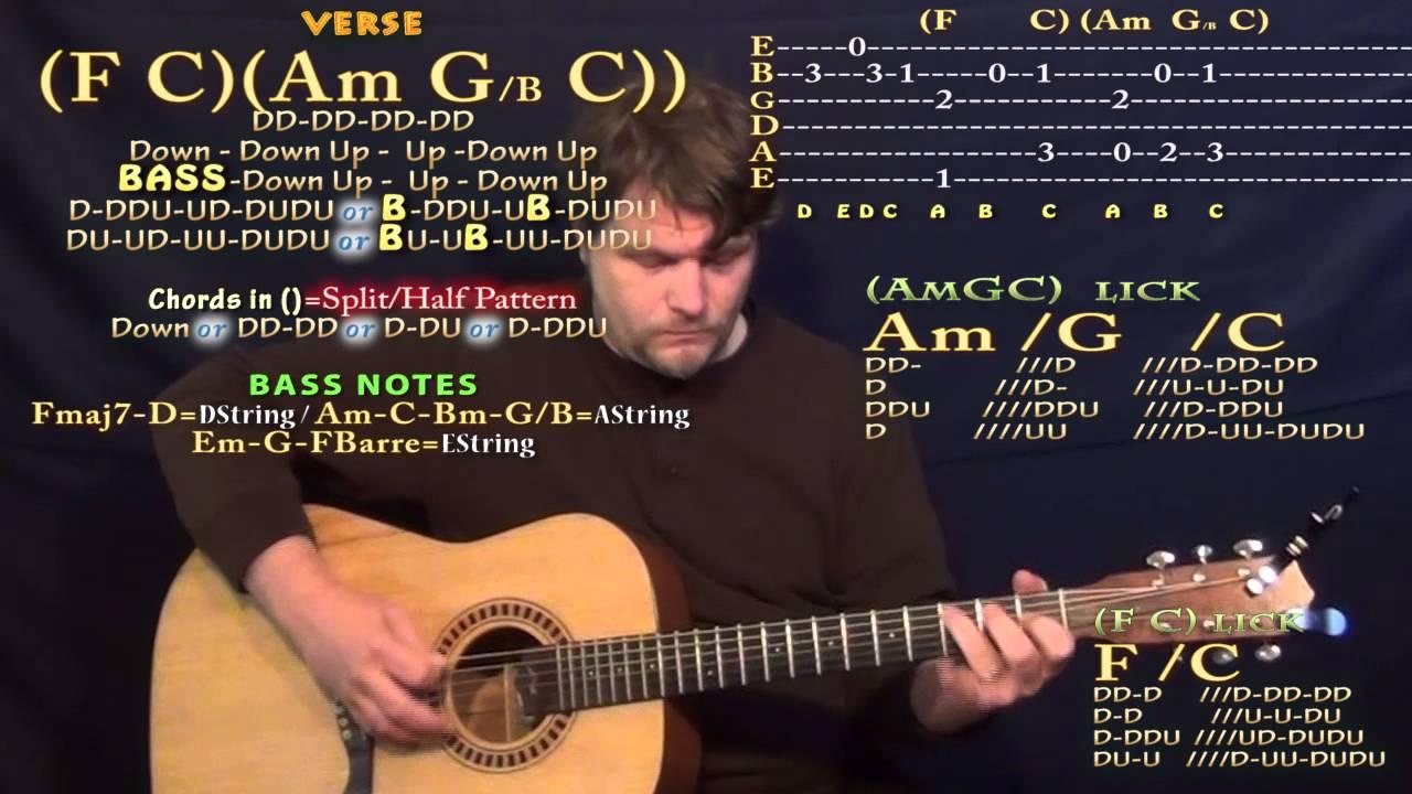 Purpose Justin Bieber Guitar Lesson Chord Chart Youtube
