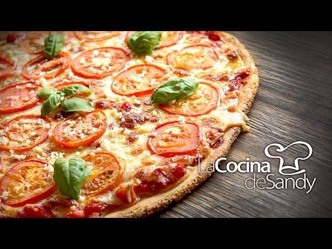 Como hacer pizza margarita napolitana y masa para pizzas