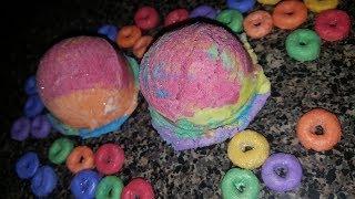 Making Fruit 🍒🍊🍌🍏🍇Rings Bubble Bars!!!!