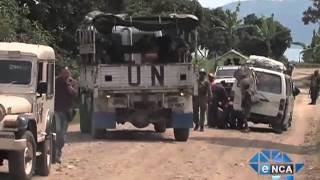 UN Peacekeeping Forces and Journalists Face Hostile Confrontation