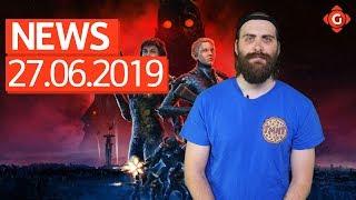 Wolfenstein: Youngblood - Ungeschnitten in Deutschland! PS Plus: Die Spiele im Juli! | GW-NEWS