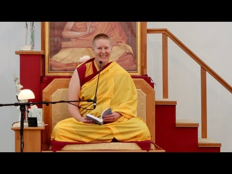 Gen Kelsang Devi - Retreat session - Exchanging self with Others