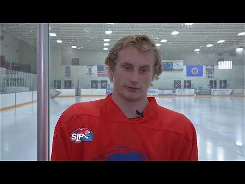 "Spring Lake Park Boys Hockey ""Coach & Captains"" 2018-19"