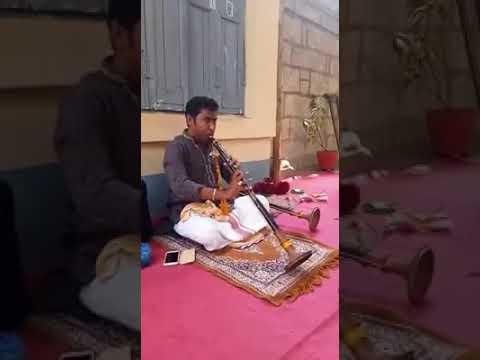 Thavil and nadaswaram kacheri @ solo playing nadaswaram in temple  @ 3