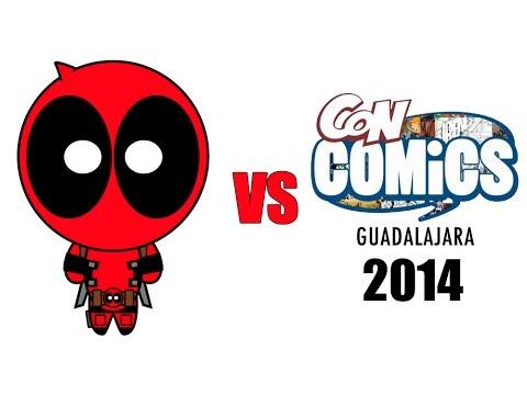 Deadpool vs ConComics Guadalajara 2014