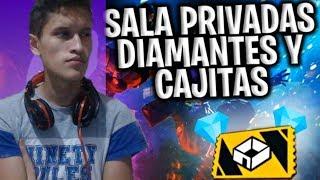 FREE FIRE EN VIVO - SORTEO DE DIAMANTES - SALAS PRIVADAS- MINIJUEGOS - REGION EEUU
