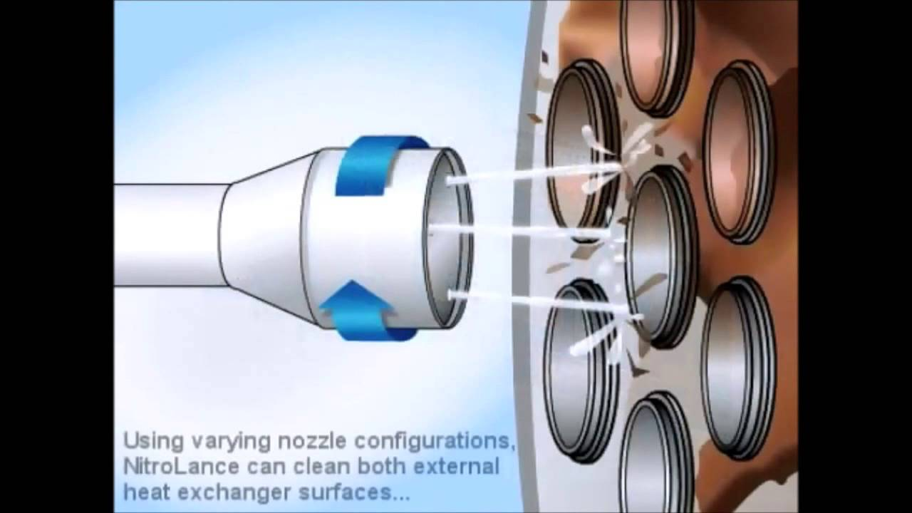 Clean Heat Exchangers Without Using Water Youtube