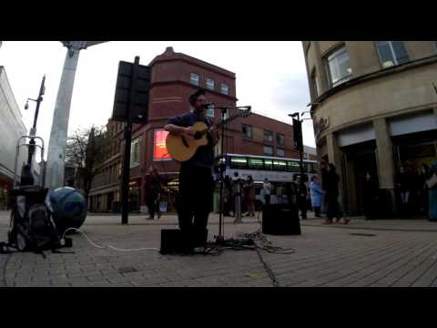 "Paul John Bailey - ""A Humble Street performance"" In Bristol"