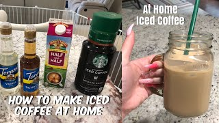 How to make Iced Coffee | 3 steps!!