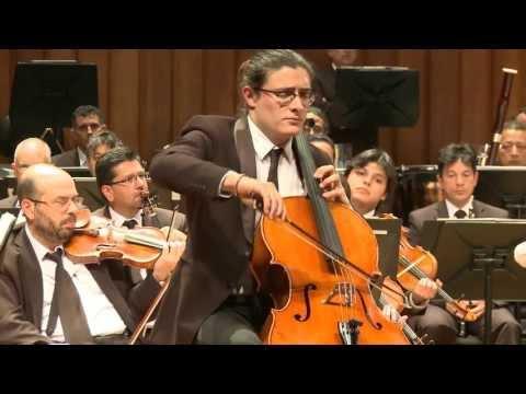 Elgar Cello Concerto (complete), Santiago Cañón Valencia (18 YO) + Encore