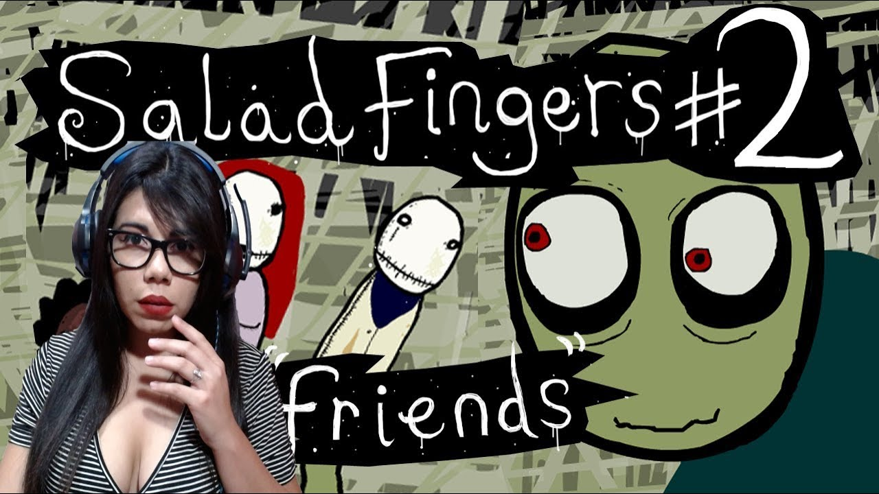 Salad Fingers Friends ¦ Video Reaccion