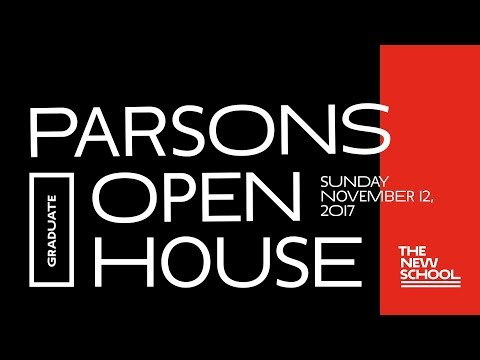 Parsons Graduate Expo & Open House 2017 | The New School