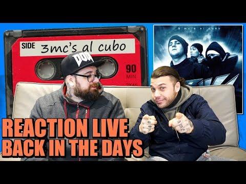 ( CLUB DOGO ) | SACRE SCUOLE  - 3 MCS AL CUBO | REAZIONE LIVE | ARCADE BOYZ 2018