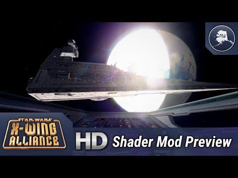 X-Wing Alliance | HD Shader Mod (Demo Reel)