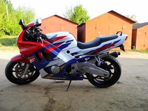 Honda CBR 600 F3, 1995 Full power Earlier version  YouTube