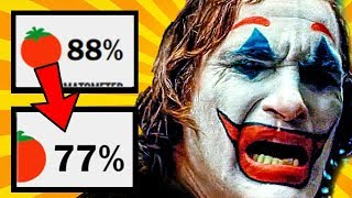 Joker DROPS 11% on ROTTEN TOMATOES after TORONTO FILM FESTIVAL - Here's what the LATEST Critics SAY