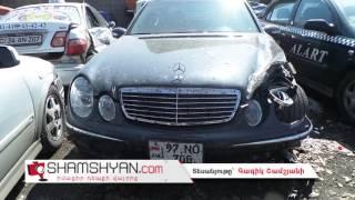 Երևանում բախվել են Opel ն ու Mercedes ը  Mercedes ն էլ մխրճվել է առևտրի տաղավարի մեջ