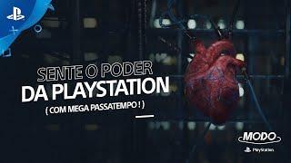 MODO PLAYSTATION #22 | SENTE O PODER DA PLAYSTATION (COM MEGA PASSATEMPO!)