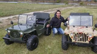 Driving The Off-Road On Road UTV Golf Cart Mini Truck From SaferWholesale.com