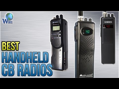5 Best Handheld CB Radios 2018 - YouTube