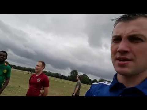 Football in Hyde park