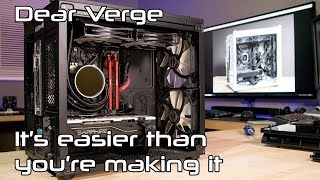 How the Verge PC SHOULD have looked
