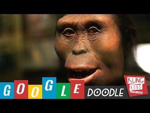 Google Dodlles - Ulang Tahun Ke-41 Lucy (Australopithecus)