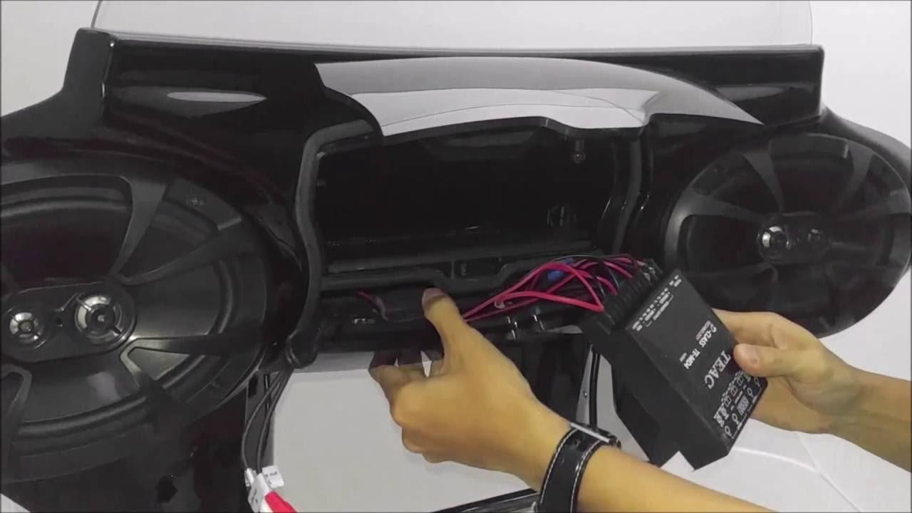 Tsukayu Double Boox Fairing Amplifier Install , Uninstall