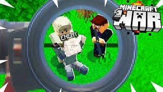 we CAPTURED a Minecraft ENEMY.. but a player is SECRETLY watching! (Minecraft War #4)