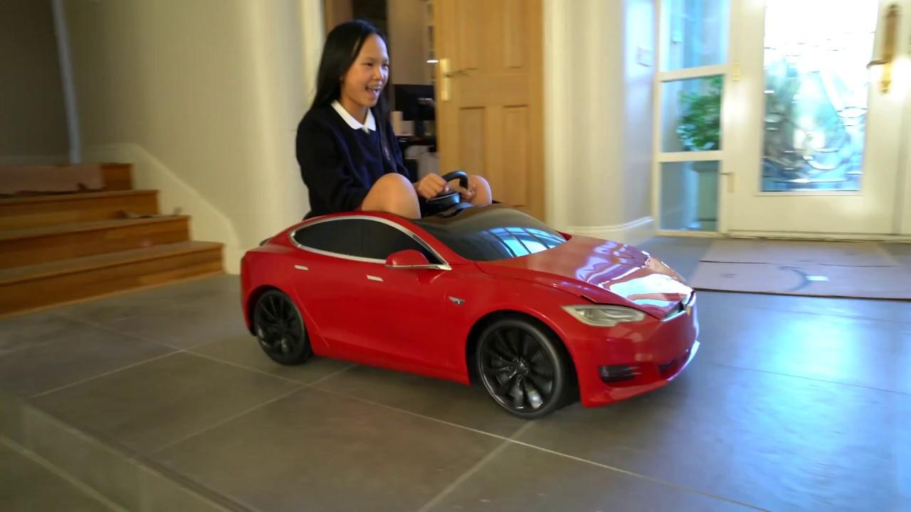 Tesla Model S For Kids Unboxing