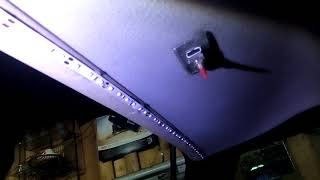 освещение багажника пассат B3