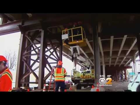 Years Of Wear And Tear Prompt Major Repairs To The Pulaski Skyway