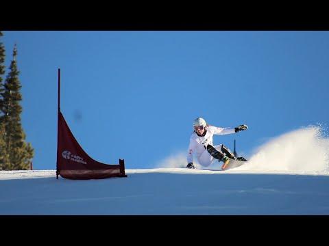 Ester Ledecká World Cup Snowboard Racer