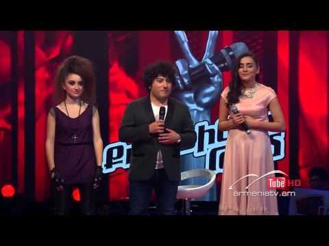 Anahit,Fighter vs. Anna,Circus - The Voice Of Armenia - Knockout - Season 2