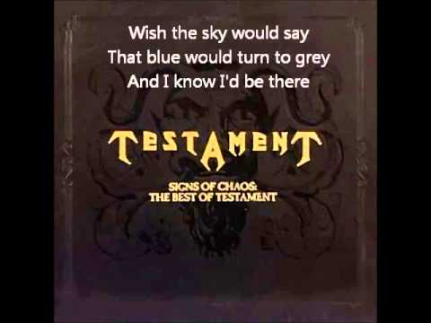 Testament - The Legacy (HD) (With Lyrics) - YouTube