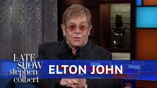 Elton John Takes Stephen Through His Entire Catalogue