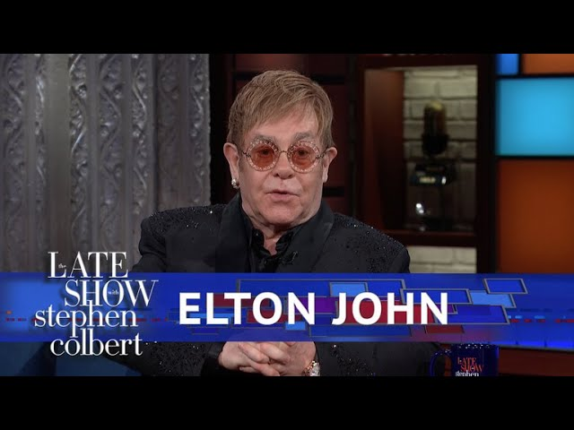 Elton John Takes Stephen Through His Entire Catalogue