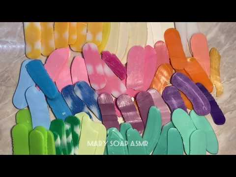Breaking Dry Soap Plates/ломаю сухие мыльные пластинки/asmr Soap/ асмр/ релакс/ видео для сна/relax