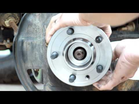 2006 Land Rover LR3 Front Wheel Hub Replacement