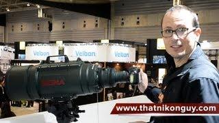 Sigma MONSTER - 200-500mm f2.8 (400-1000mm f5.6)