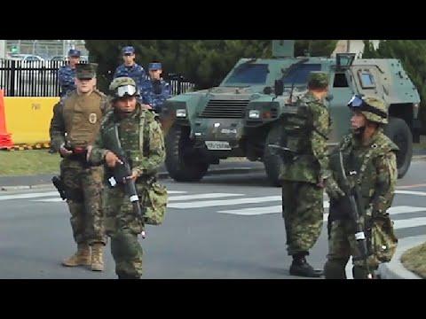 陸上自衛隊「警護出動」訓練・日米合同演習キーンソード2015