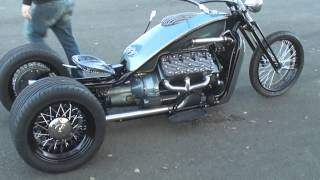 Repeat youtube video V8 Ford Flathead trike