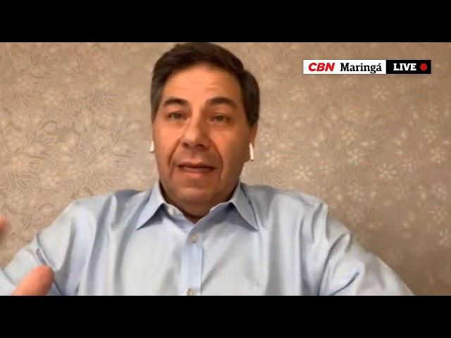 Minha entrevista com Gilson Aguiar em 06/08/2020 - CBN Maringá