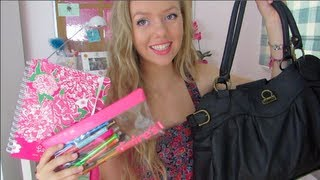 School Bag Essentials + Must Haves! Thumbnail