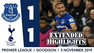 EXTENDED HIGHLIGHTS: EVERTON 1-1 SPURS | LATE TOSUN EQUALISER AFTER HEARTBREAKING INJURY FOR GOMES