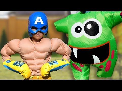 Максим и супергерой история для детей с сюрпризом