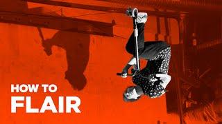 Обучение Флеер на самокате. Flair on scooter. Трюки на самокате для новичков