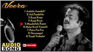 Veera Tamil Movie Songs | Audio Jukebox | Rajinikanth | Meena | Roja | Ilayaraja | Music Master