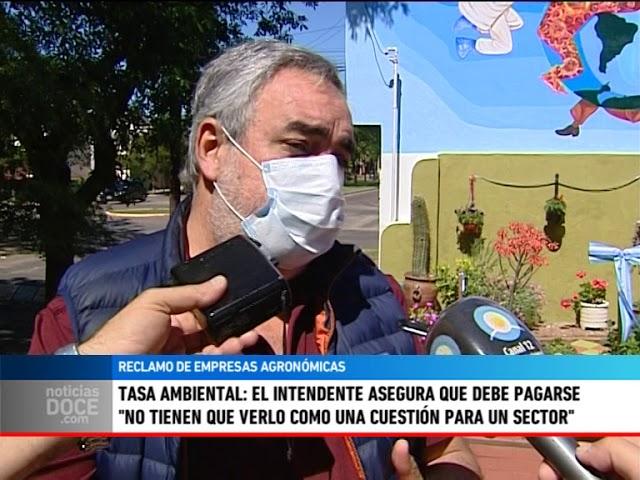 Tasa Ambiental: El Intendente asegura que debe pagarse. 27 empresas del sector decidieron no pagar