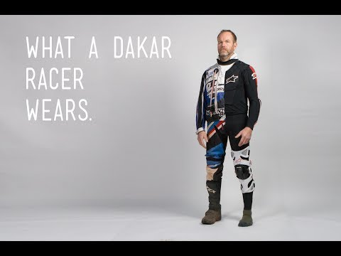 What a Dakar Race Wears - Brake Magazine